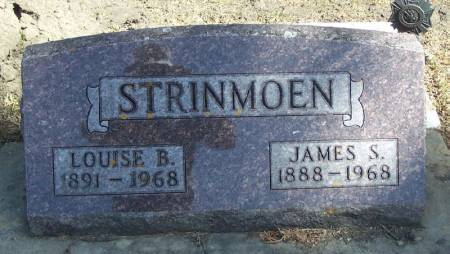 STRINMOEN, JAMES S - Winneshiek County, Iowa   JAMES S STRINMOEN