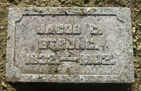 STRONG, JACOB C. - Winneshiek County, Iowa | JACOB C. STRONG