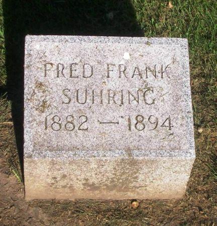 SUHRING, FRED FRANK - Winneshiek County, Iowa | FRED FRANK SUHRING