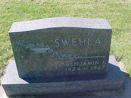 SWEHLA, BENJAMIN  F. - Winneshiek County, Iowa   BENJAMIN  F. SWEHLA