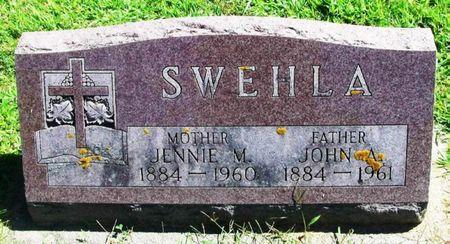 SWEHLA, JENNIE M. - Winneshiek County, Iowa | JENNIE M. SWEHLA