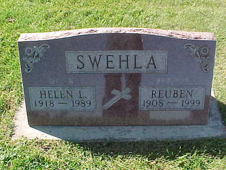 SWEHLA, HELEN  L. - Winneshiek County, Iowa | HELEN  L. SWEHLA