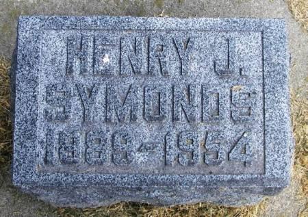 SYMONDS, HENRY J - Winneshiek County, Iowa | HENRY J SYMONDS