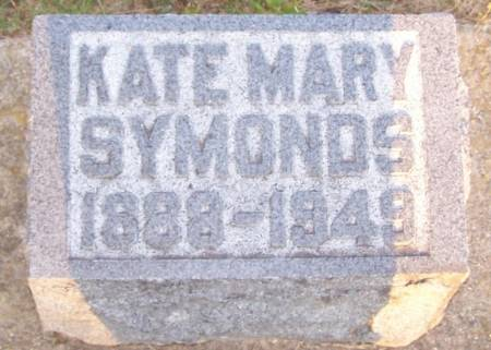 SYMONDS, KATE MARY - Winneshiek County, Iowa | KATE MARY SYMONDS