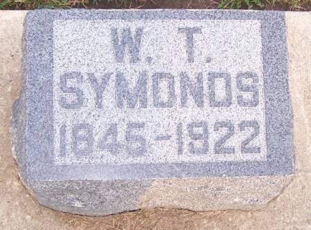 SYMONDS, W. T. - Winneshiek County, Iowa | W. T. SYMONDS