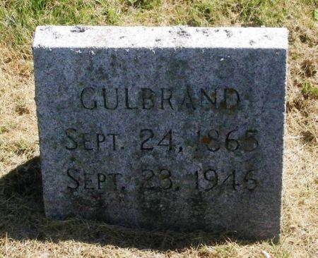 SYVERSON, GULBRAND - Winneshiek County, Iowa   GULBRAND SYVERSON