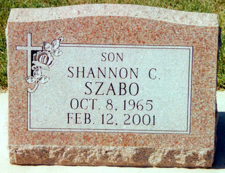 SZABO, SHANNON CLAIR - Winneshiek County, Iowa   SHANNON CLAIR SZABO