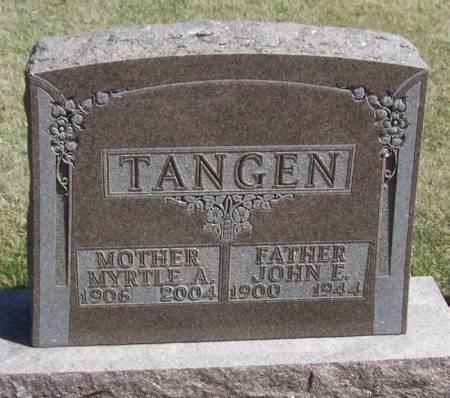 TANGEN, MYRTLE A - Winneshiek County, Iowa | MYRTLE A TANGEN
