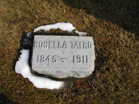 TATRO, ROSELLA - Winneshiek County, Iowa | ROSELLA TATRO