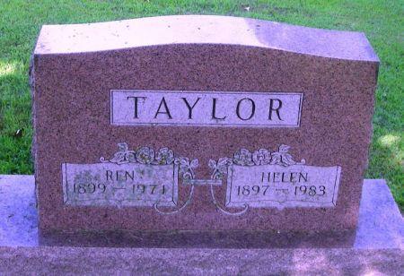 TAYLOR, REN - Winneshiek County, Iowa | REN TAYLOR