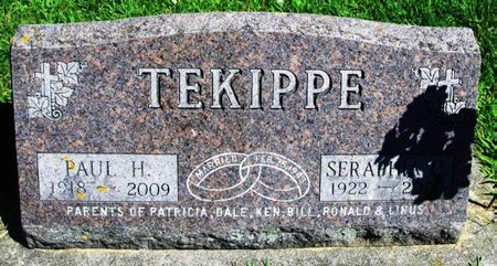 TEKIPPE, SERAPHIA - Winneshiek County, Iowa | SERAPHIA TEKIPPE