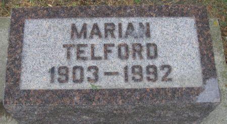 TELFORD, MARIAN - Winneshiek County, Iowa | MARIAN TELFORD