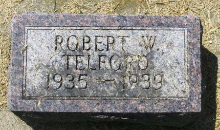 TELFORD, ROBERT W. - Winneshiek County, Iowa | ROBERT W. TELFORD