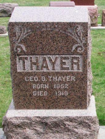 THAYER, GEO. O, - Winneshiek County, Iowa | GEO. O, THAYER