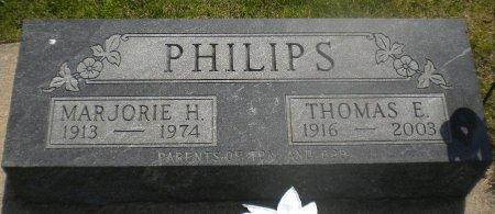 PHILIPS, MARJORIE H. - Winneshiek County, Iowa   MARJORIE H. PHILIPS