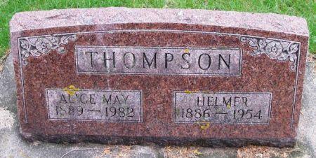 THOMPSON, ALICE MAY - Winneshiek County, Iowa   ALICE MAY THOMPSON