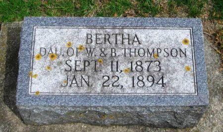 THOMPSON, BERTHA - Winneshiek County, Iowa | BERTHA THOMPSON