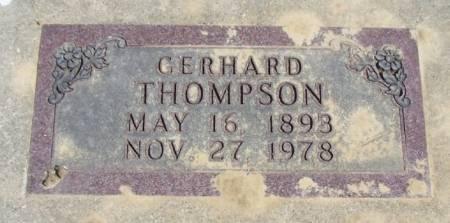 THOMPSON, GERHARD - Winneshiek County, Iowa | GERHARD THOMPSON