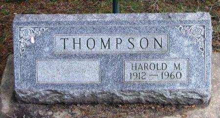 THOMPSON, HAROLD M. - Winneshiek County, Iowa   HAROLD M. THOMPSON