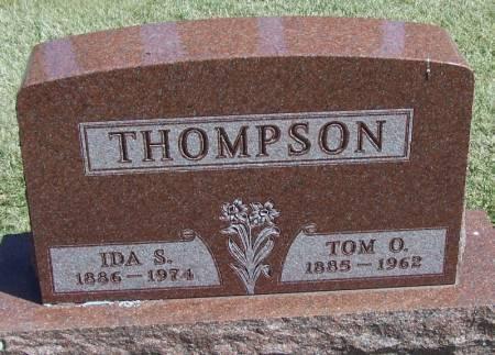 THOMPSON, IDA S - Winneshiek County, Iowa | IDA S THOMPSON