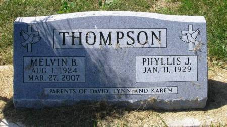 THOMPSON, MELVIN B. - Winneshiek County, Iowa | MELVIN B. THOMPSON