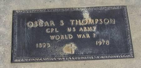 THOMPSON, OSCAR S - Winneshiek County, Iowa | OSCAR S THOMPSON