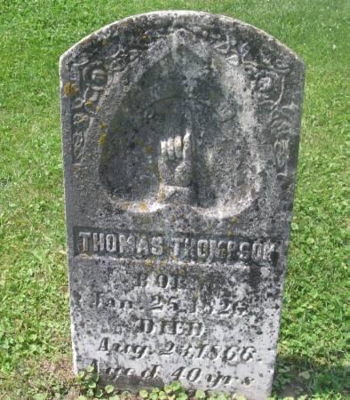 THOMPSON, THOMAS - Winneshiek County, Iowa | THOMAS THOMPSON