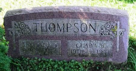 THOMPSON, CLARA B. - Winneshiek County, Iowa | CLARA B. THOMPSON