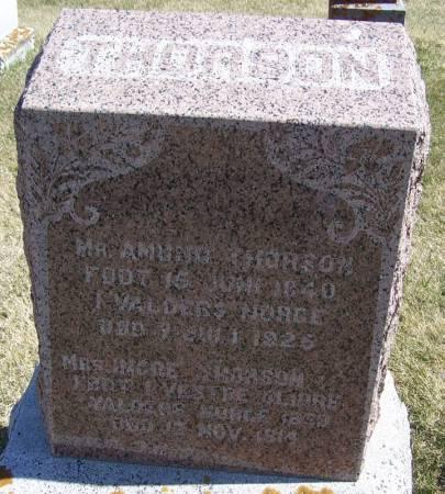 THORSON, AMUND - Winneshiek County, Iowa | AMUND THORSON