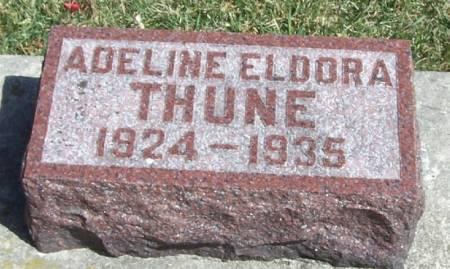 THUNE, ADELINE ELDORA - Winneshiek County, Iowa | ADELINE ELDORA THUNE