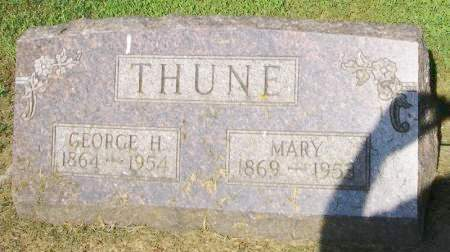 THUNE, MARY - Winneshiek County, Iowa | MARY THUNE