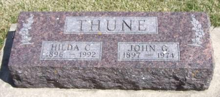 THUNE, JOHN G - Winneshiek County, Iowa | JOHN G THUNE