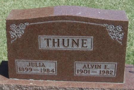 THUNE, ALVIN E - Winneshiek County, Iowa | ALVIN E THUNE