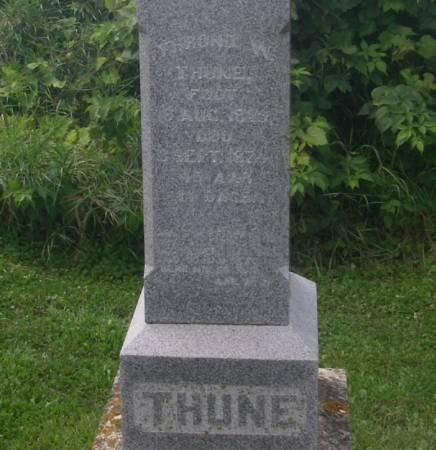 THUNE, THROND - Winneshiek County, Iowa | THROND THUNE