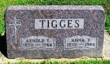 TIGGES, ARNOLD F. - Winneshiek County, Iowa   ARNOLD F. TIGGES