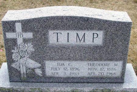 TIMP, THEODORE M. - Winneshiek County, Iowa | THEODORE M. TIMP