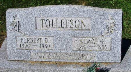 TOLLEFSON, HERBERT O. - Winneshiek County, Iowa | HERBERT O. TOLLEFSON