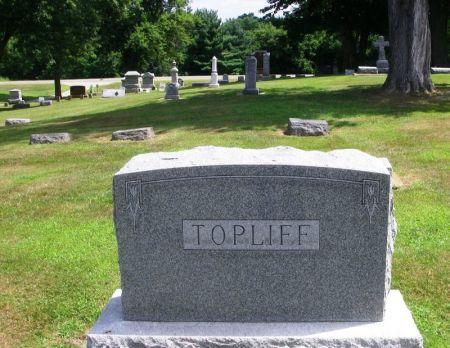 TOPLIFF, JOHN N. FAMILY STONE - Winneshiek County, Iowa | JOHN N. FAMILY STONE TOPLIFF