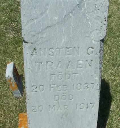 TRAAEN, ANSTEN G - Winneshiek County, Iowa | ANSTEN G TRAAEN