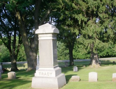 TRACY, ALVA FAMILY STONE - Winneshiek County, Iowa | ALVA FAMILY STONE TRACY
