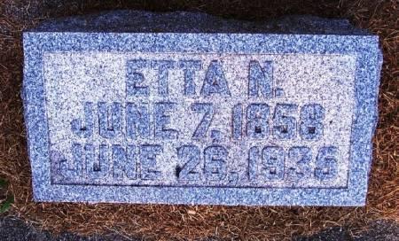 TUCKER, ETTA N - Winneshiek County, Iowa | ETTA N TUCKER