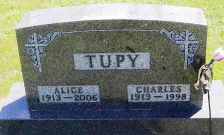 TUPY, CHARLES - Winneshiek County, Iowa | CHARLES TUPY