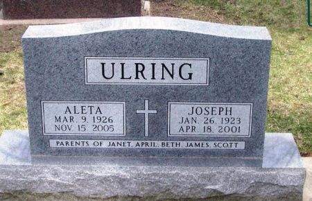 ULRING, JOSEPH - Winneshiek County, Iowa | JOSEPH ULRING