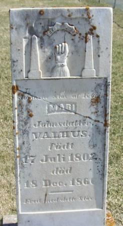VALHUS, MARI JOHNSDATTER - Winneshiek County, Iowa | MARI JOHNSDATTER VALHUS