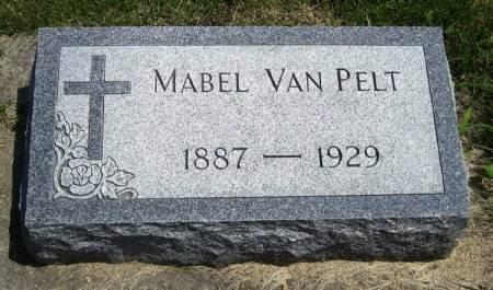 VAN PELT, MABEL - Winneshiek County, Iowa   MABEL VAN PELT