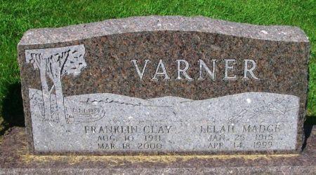 VARNER, LELAH MADGE - Winneshiek County, Iowa | LELAH MADGE VARNER