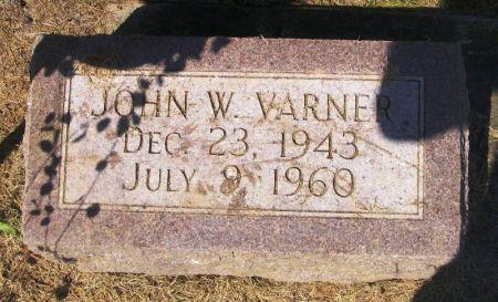 VARNER, JOHN W. - Winneshiek County, Iowa | JOHN W. VARNER