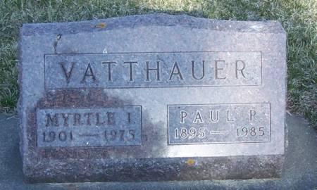VATTHAUER, PAUL R - Winneshiek County, Iowa | PAUL R VATTHAUER