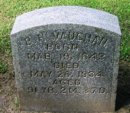 VAUGHAN, B. H. - Winneshiek County, Iowa   B. H. VAUGHAN