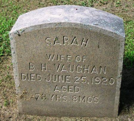 VAUGHAN, SARAH - Winneshiek County, Iowa | SARAH VAUGHAN